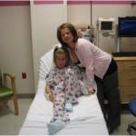 Wiktoria I mama w szpitalu